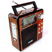 Радиоприёмник/фонарь Atlanfa AT-881, кардридер SD/USB, мощный широкополосной динамик 5Вт, LCD-дисплей, ручка