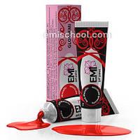 Гель краска GLOSSEMI Красный металлик Emi 5мл
