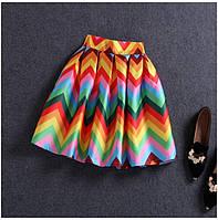 Атласная юбка Valentino