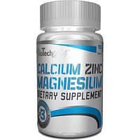 BioTech Минеральный комплекс BioTech Calcium Zinc Magnesium, 100 таб.