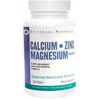 Universal Nutrition Минеральный комплекс Universal Nutrition Calcium Zinc Magnesium, 100 таб.