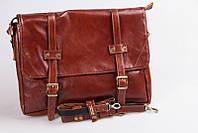 Кожаная сумка-портфель Golden ручной работы