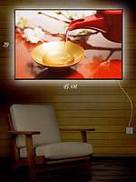 Картина с подсветкой 29х45 «Чашка сладкого чая»