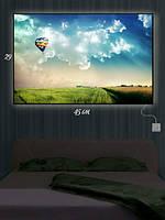 Картина с подсветкой 29х45 «Полет на воздушном шаре»