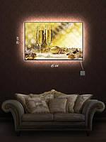 Картина с подсветкой 29х45 «Звон хрустальных бокалов»