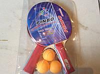 Набор для настольного тенниса PINBO (2 ракетки+3 шарика)