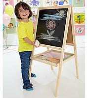 Мольберт деревянный детский M02