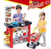 Детский Супермаркет с тележкой 668-16
