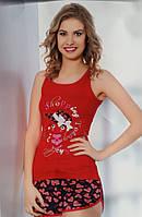 "Женская пижама ""MODA LOVE"" №10321 шорты"
