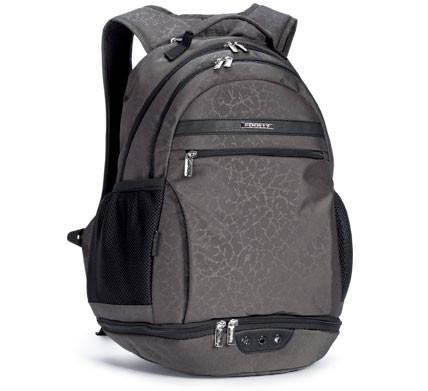 Молодежный, школьный рюкзак из плотной непромокаемой ткани с декором Dolly (Долли) 338