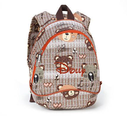 Рюкзак для девочки с мишками от Dolly (Долли) 345