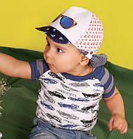 """Детская бандана кепка для мальчиков Дембохаус """"НОА"""" размер 44"""