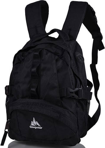 Удобный детский рюкзак ONEPOLAR (ВАНПОЛАР) W1013-black