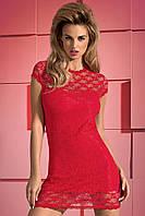 Красное сексуальное платье с открытой спиной