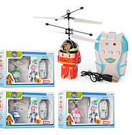 Робокар на радиоуправлении Robocar Poli (летающий робокар/летающий вертолет): Поли, Эмбер, Рой, Хэли
