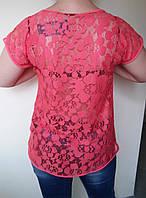 Молодежная женская летняя блуза , фото 1