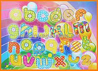 Детский пазл мозаика | Алфавит англиский для детей