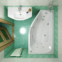 Акриловая ванна Triton Скарлет 1670x960x580 (возможна установка гидромассажа)