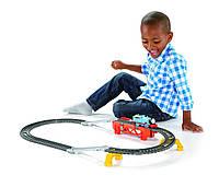 Паровозик Томас и друзья игровой набор 2-в-1 (моторизированная серия). Fisher-Price Thomas TrackMaster