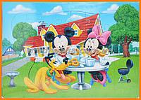 Детская головоломка Пазл Микки Маус | Дитячий пазл недорого