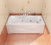 Акриловая ванна с гидромассажем Triton Джулия 1600x700 (гидромассаж 0,9 Квт+спинной массаж)
