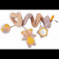 Детская карусель-спиралька на коляску Alexis-Babymix TE-9985-35B (погремушка, подвеска)