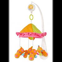 Детская музыкальная карусель на кроватку, мобиль для кроватки BabyOno 1262 (мобайлы, карусели)