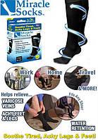 Компрессионные гольфы от варикоза Miracle Socks, Размер S/M (36-40)