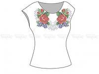 Заготовка женской блузы без рукавов для вышивки бисером «Краски лета»