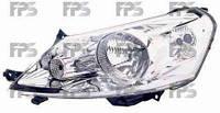 Фара передняя для Citroen Jumpy '07- левая (DEPO) под электрокорректор