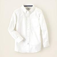 Детская белая рубашка для мальчика, на рост 104-118, 118-133, 133-147см.(арт.2339)