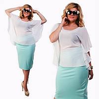 Фасоны блузок из шифона на полных женщин