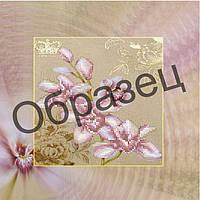 """Схема для вышивки бисером на холсте - """"Орхидея"""""""