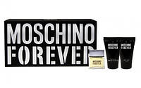 MOSCHINO FOREVER EDT Набор (edt мини 5 мл+b/l 25 мл+s/g 25 мл)