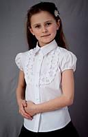 Блузка на девочку с коротким рукавом 2060