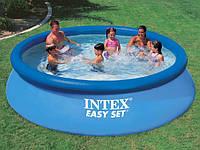 Семейный бассейн Intex 56420 (28130), EASY SET POOL,наливной,технология Super-Touch,366*76 см