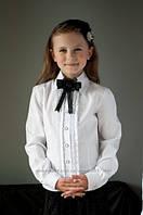 Блузка на девочку, школьная блузка 2078