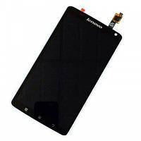 Lenovo S930 black LCD, модуль, дисплей с сенсором