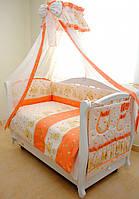"""Детский постельный комплект Twins """"Мишки со звездами"""""""