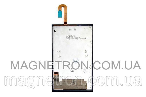 Дисплей + тачскрин #3F4A549R для мобильных телефонов HTC 610 Desire, фото 2