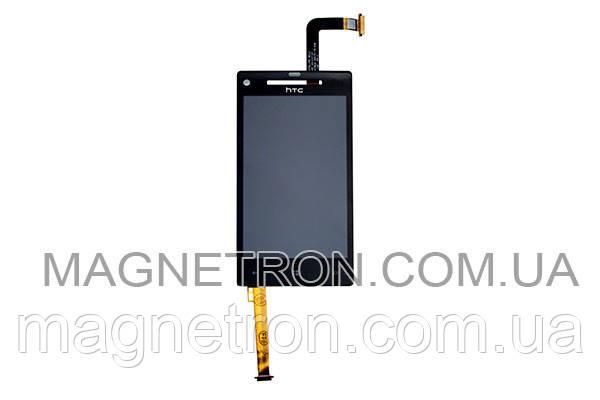 Дисплей + тачскрин #T6075A FPC для мобильных телефонов HTC C620e Windows Phone 8Xm, фото 2