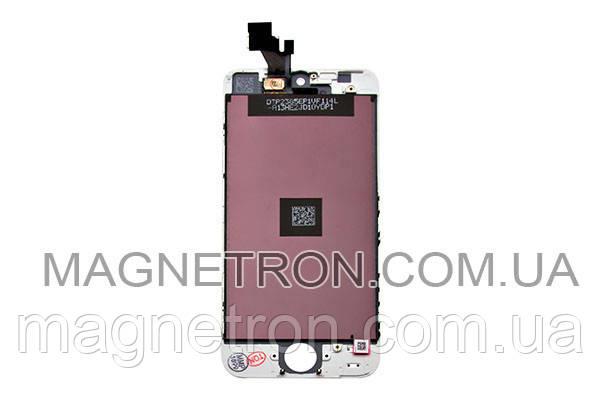 Дисплей с тачскрином + рамка для мобильных телефонов Apple iPhone 5 (белый), фото 2