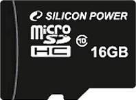 Карта памяти SILICON POWER microSDHC16 GB, фото 1