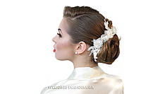 """Кружевное украшение для прически """"Версаль"""" ."""