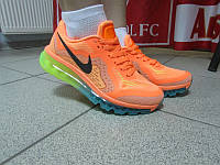 Кроссовки женские Nike Air Max 2015 оранжевые код 329А