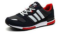 Кроссовки Adidas Classic мужские, темно-серые/ темно-синие, фото 1