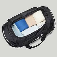 Сумка дорожная , спортивная Runetz Black Athletic Gym Bag