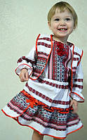 Детский костюмчик тройка состоит из юбочки , жилетки и рубашечки, фото 1