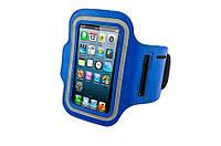 Армбенд, спортивный чехол Iphone 5 5C 5S, розовый синий