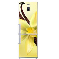 Виниловая наклейка для холодильника Ваниль. Дизайнерские интерьерные наклейки